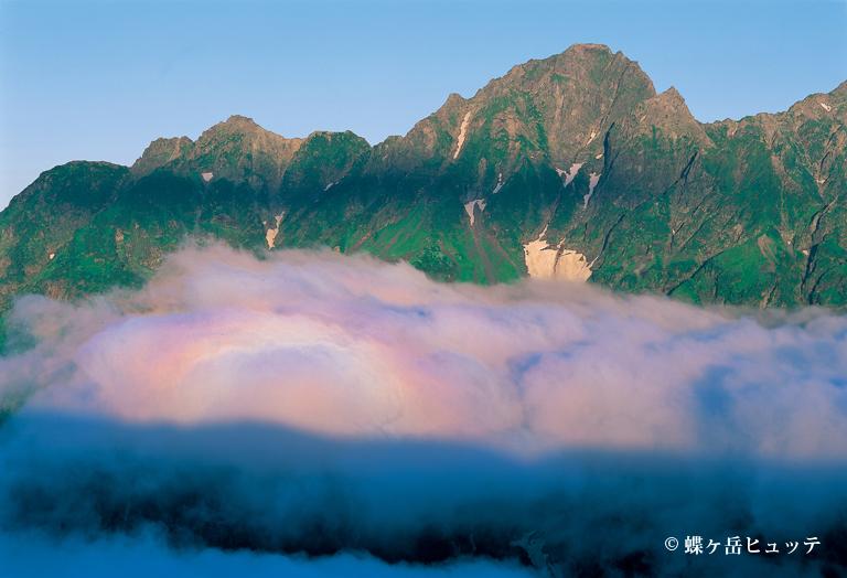 前穂高岳とブロッケン